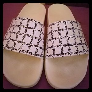 Authentic Tory Burch slide sandals